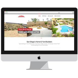 Construction Company Web Design & SEO