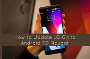 Update LG G4 to Android 7.0 Nougat