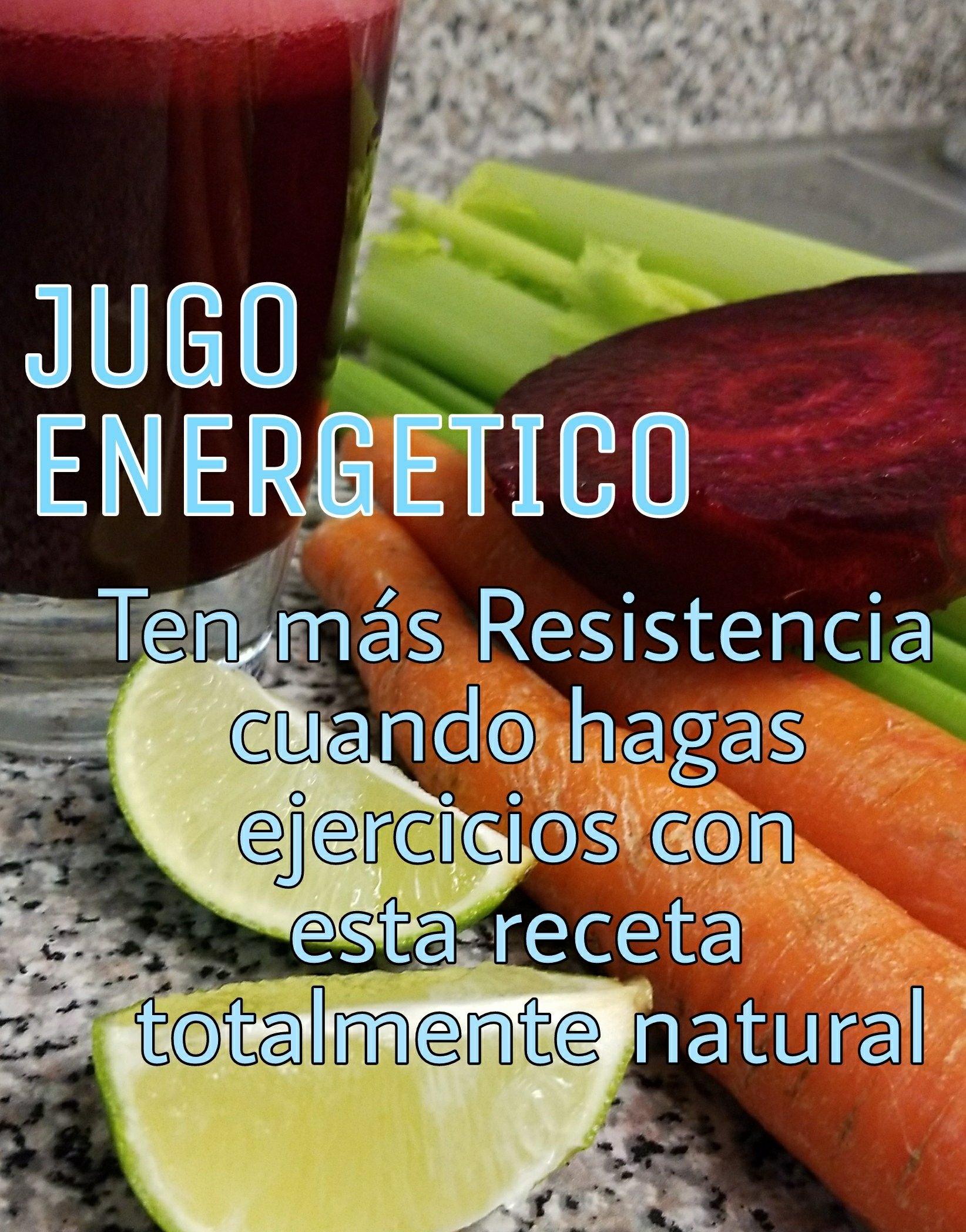 JUGO ENERGÉTICO RECETA