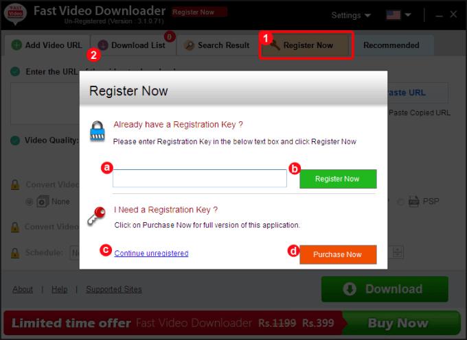 Fast Video Downloader v4.0.0.13 Crack + Registration Key Download