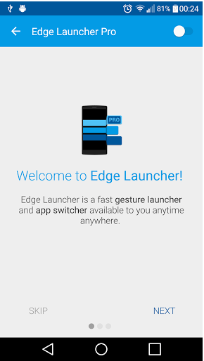 Edge Launcher Pro Android Apk