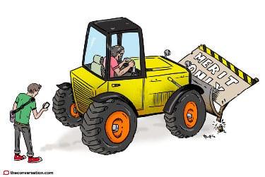 Pais escavadora