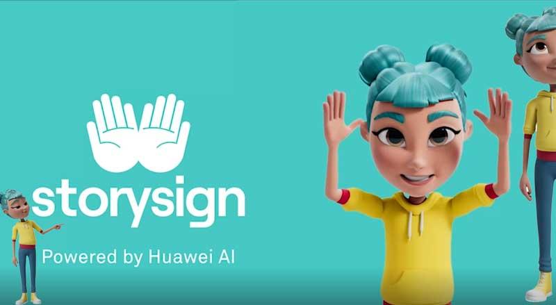 Huawei usa inteligência artificial para ajudar crianças surdas a aprender a ler