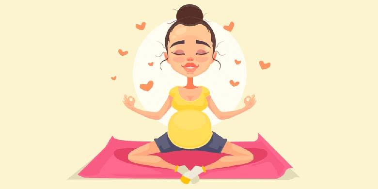 Yoga durante a gestação. Benefícios e orientações para a grávida