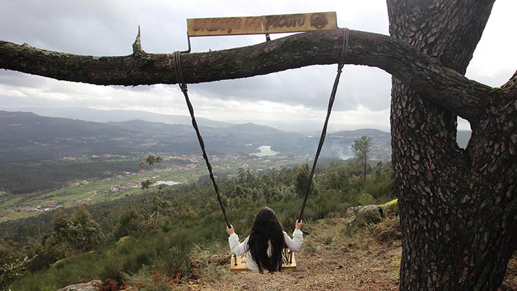 Novo baloiço panorâmico em Penafiel - Baloiço do Picoto