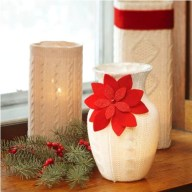 Christmas Decorating Ideas: Candleholders Adorning Warmth