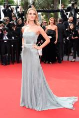 Cannes Best Dressed-Rosie Huntington -Whiteley in Gucci