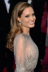 Hairstyles For Long Hair - Angelina Jolie