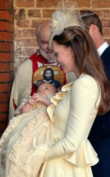 The Royals- Kate Middleton with Prince George