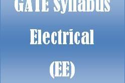 gate syllabus electrical