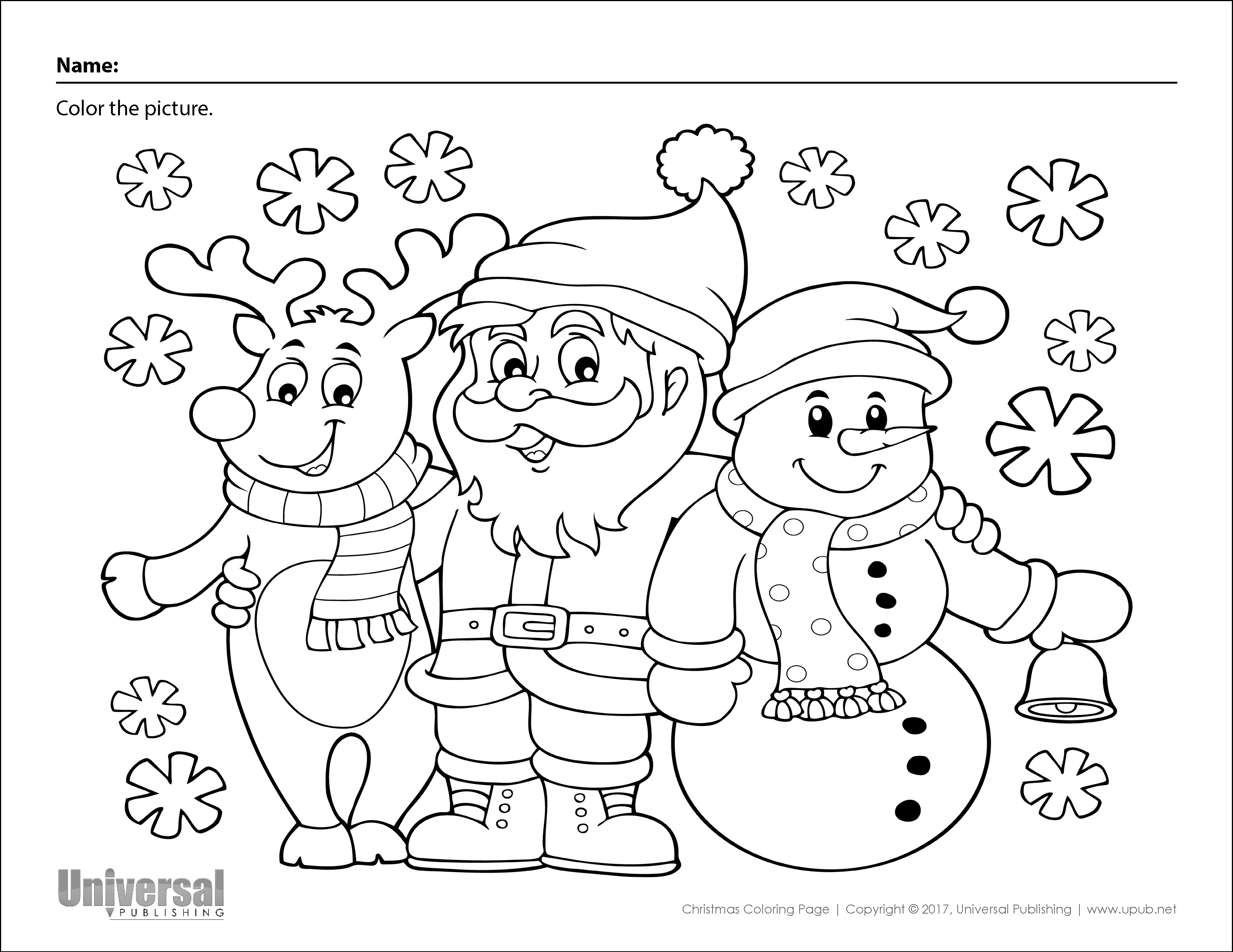 Christmas Activities Free Printables