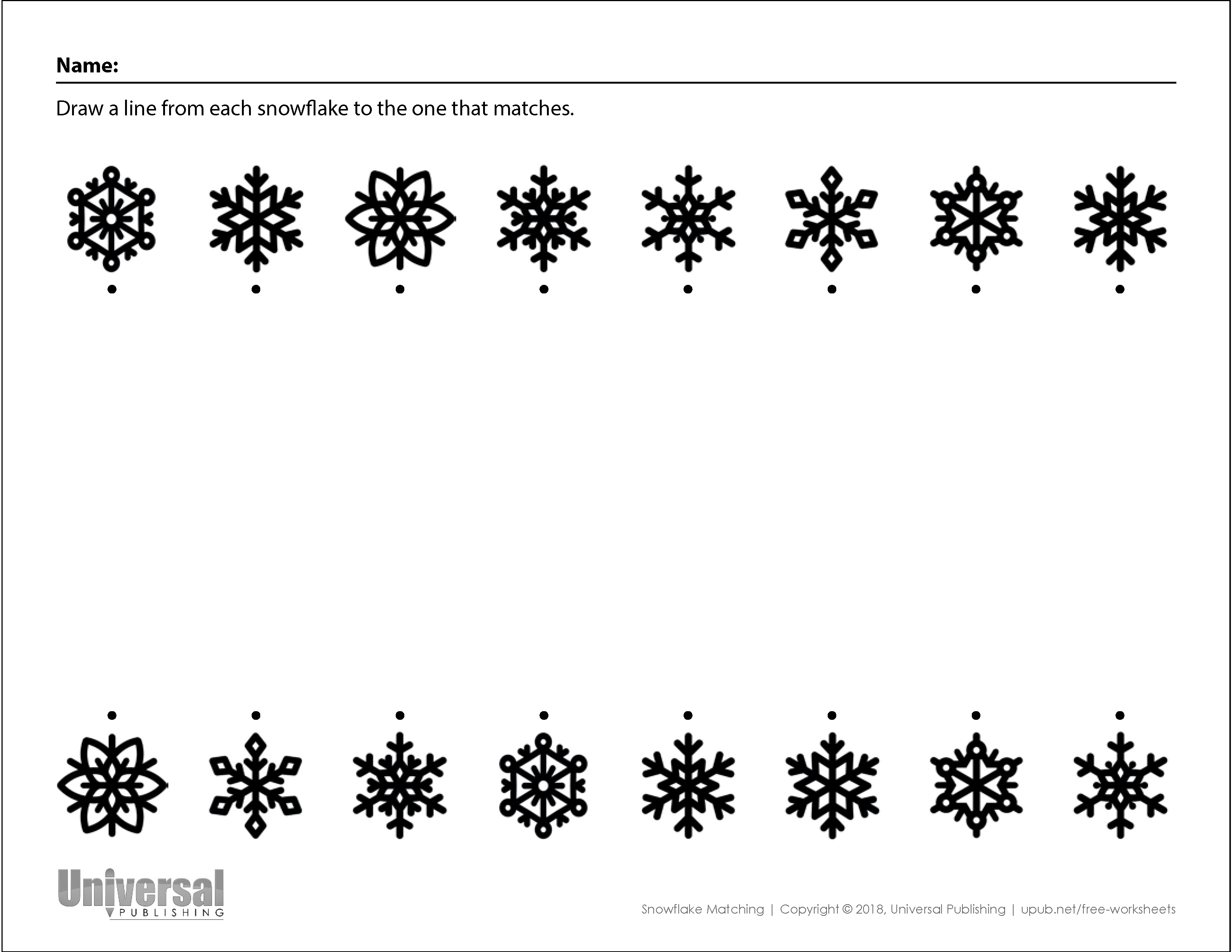 Winter Activities Free Printables