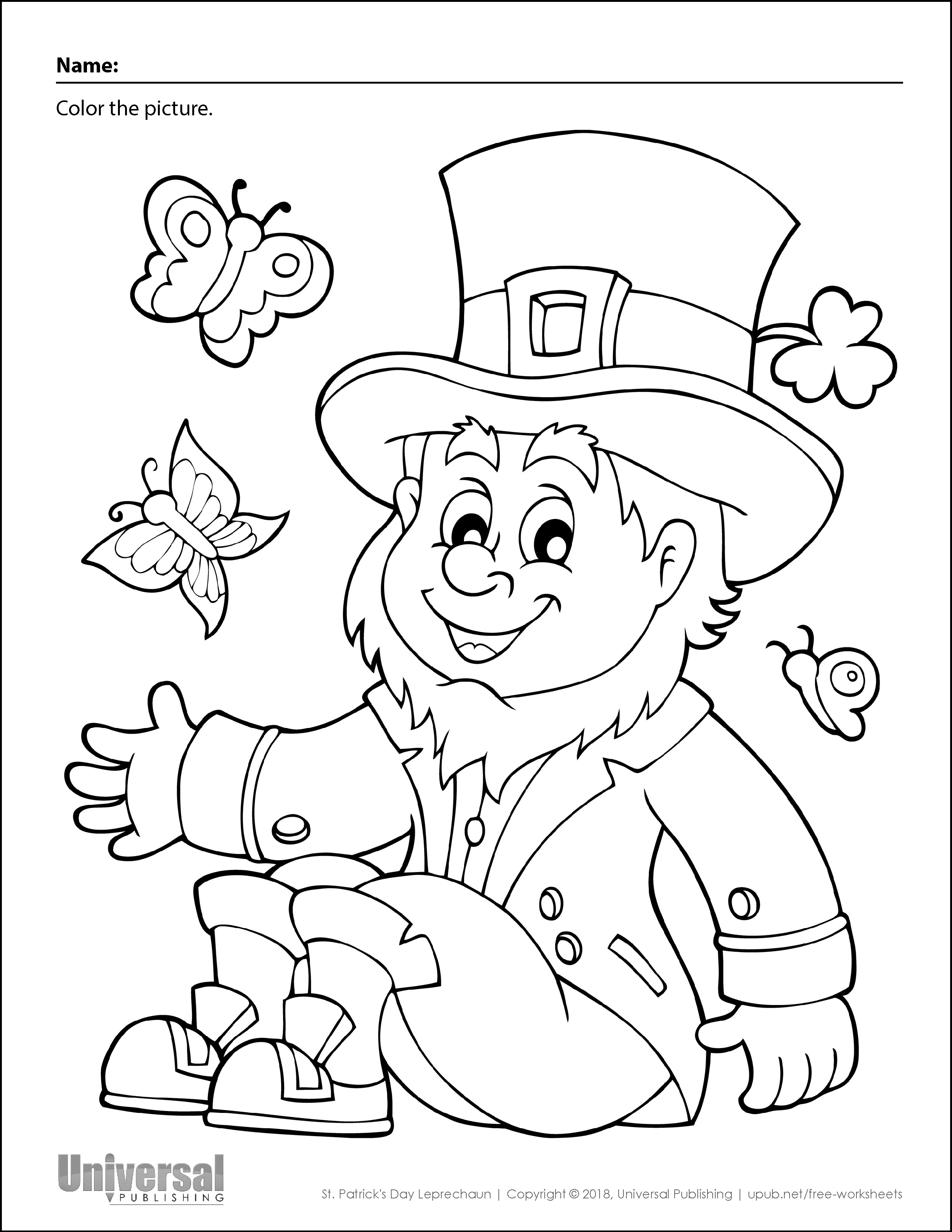 St Patrick S Day Free Printables Universal Publishing Blog