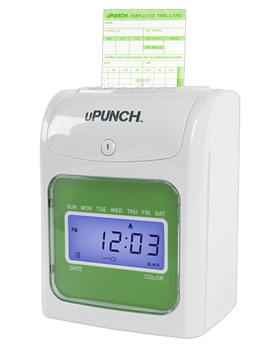 uPunch Electronic Time Clocks & Cloud Connected Software