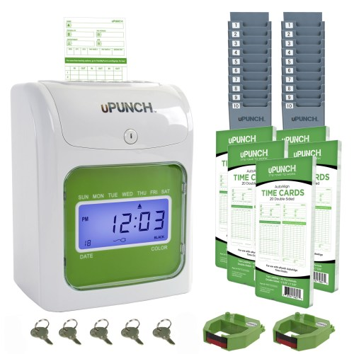 upunch time clock bundle