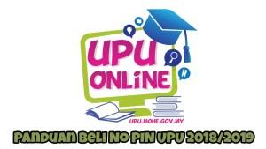 Panduan Beli No PIN UPU 2018/2019 di BSN