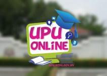 Permohonan UPU 2019 Online (Lepasan SPM/ STPM)
