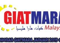 Permohonan GIATMARA 2019 Pengambilan Sesi Januari Online