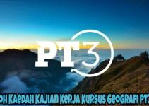 Contoh Kaedah Kajian Kerja Kursus Geografi PT3 2018