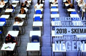 Koleksi Soalan Percubaan UPSR 2018 + Skema Jawapan (Seluruh Negeri)