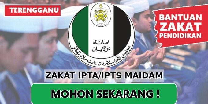 Permohonan Bantuan Zakat IPTA/IPTS 2018 MAIDAM