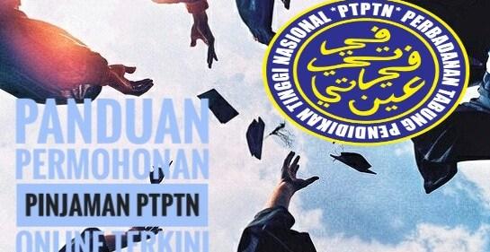 Panduan Permohonan Pinjaman PTPTN Online Terkini
