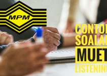 Contoh Soalan MUET Listening