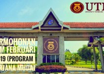 Permohonan UTM Februari 2019 (Program Sarjana Muda)
