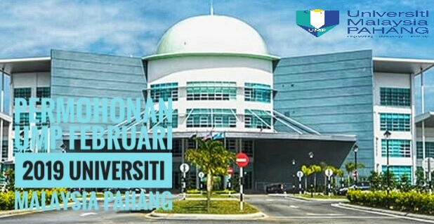 Permohonan UMP Februari 2019 Universiti Malaysia Pahang