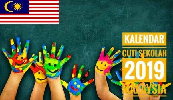 Kalendar Cuti Sekolah 2019 Malaysia