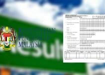 Borang Permohonan Semakan Semula Keputusan UPSR 2018 Online