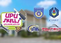 Permohonan UPUSkills 2019 Lepasan SKM, DKM, ST & VTO