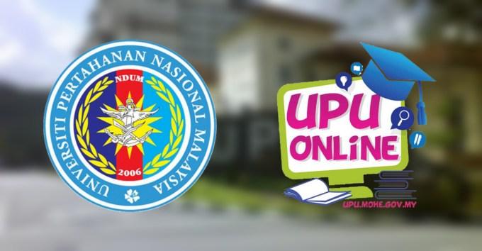 Permohonan UPNM 2019/2020 (Program Asasi & Ijazah Sarjana Muda)