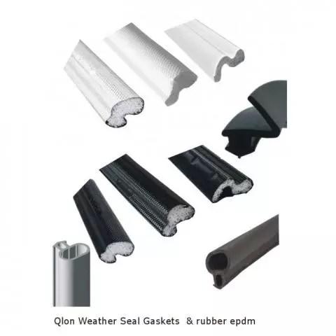 upvc door or window gasket weather draught seal qlon epdm black white