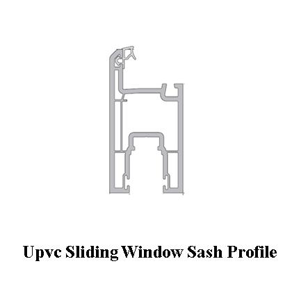 Upvc Sliding Window sash profile