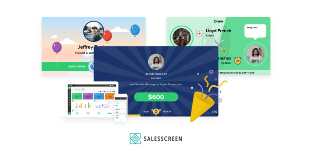 SalesScreen - Gamification & Engagement platform
