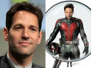 Paul Rudd as Scott Lang/Ant-Man