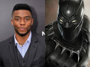 Chadwick Boseman as T'Challa/Black Panther