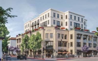 6-Story, 50-Unit Mixed-Use Building Coming to San Luis Obispo