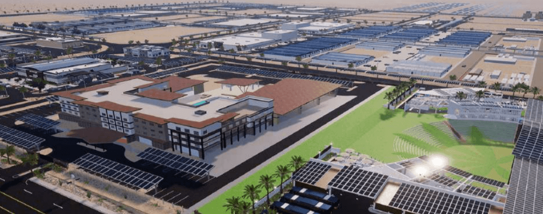 4-Story Hotel & Amphitheater Planned in Desert Hot Springs