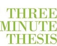 3M thesis competition is coming up
