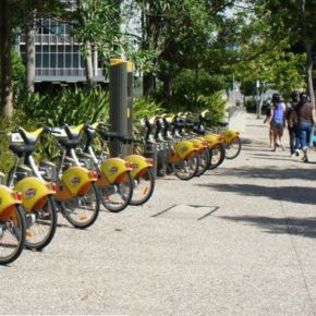 New article on bikesharing in The Conversation by UQ|UP team