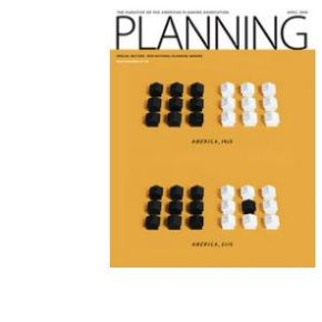 Article co-authored by Dr Pojani on sprawl and inequality reviewed in Planning magazine