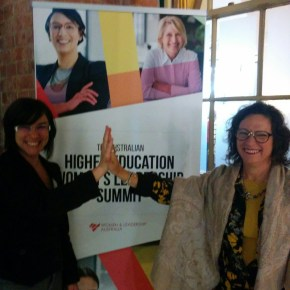 Qld female planning academics at Australian Higher Education Women's Leadership Summit