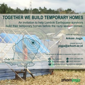 UQ UP Indonesia partner fundraising for Lombok earthquake survivors