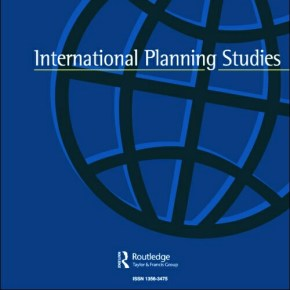 New article on planning innovations in International Planning Studies, by Sebastien Darchen