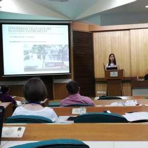 Sonia Roitman at RC21 Conference in Delhi