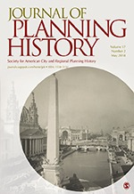 New UQ|UP article on urban planning and public health in Journal of Planning History