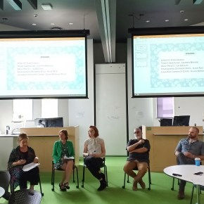 Panel with civil society organisations in UQ|UP course on community planning and participation