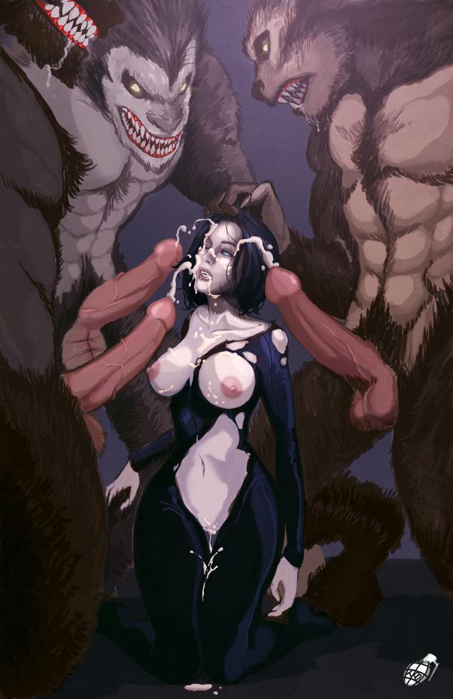 Werewolf bukkake